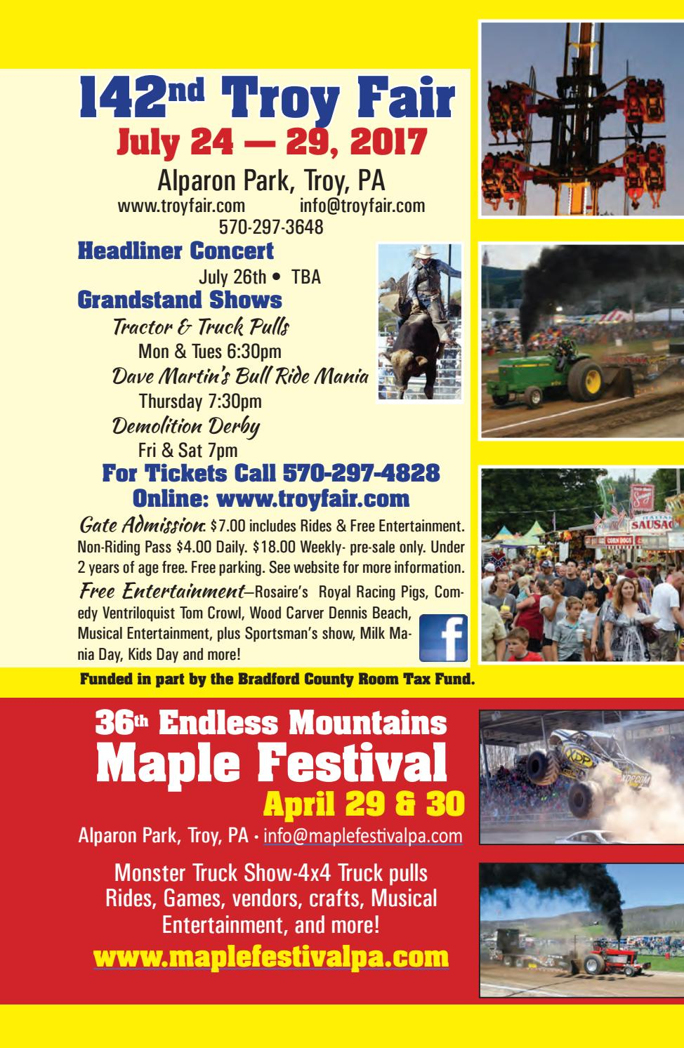 Experience Bradford County 2017 by Mountain Home - issuu