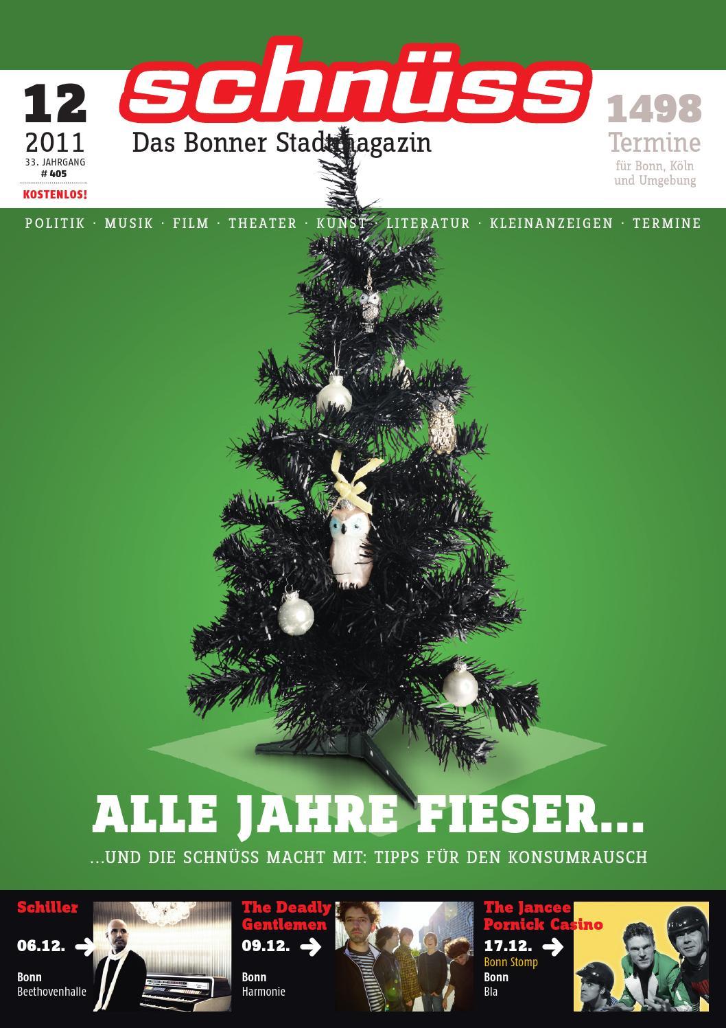 Schnüss 2011/12 by Schnüss - Das Bonner Stadtmagazin - issuu