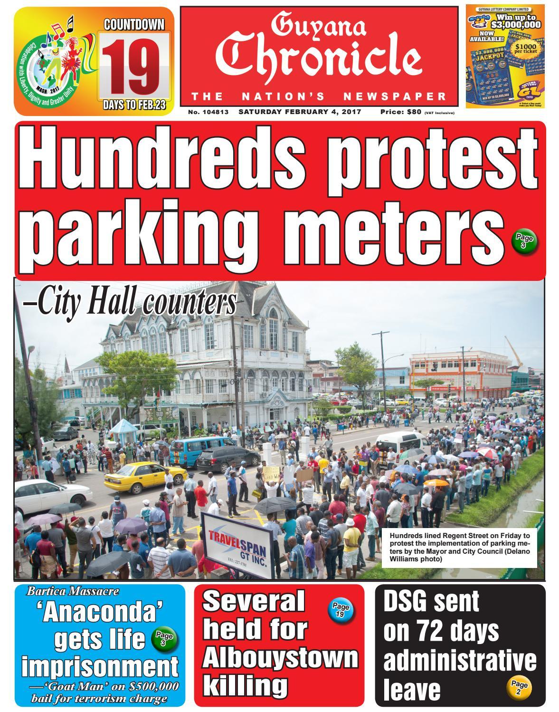 Guyana chronicle e pap...