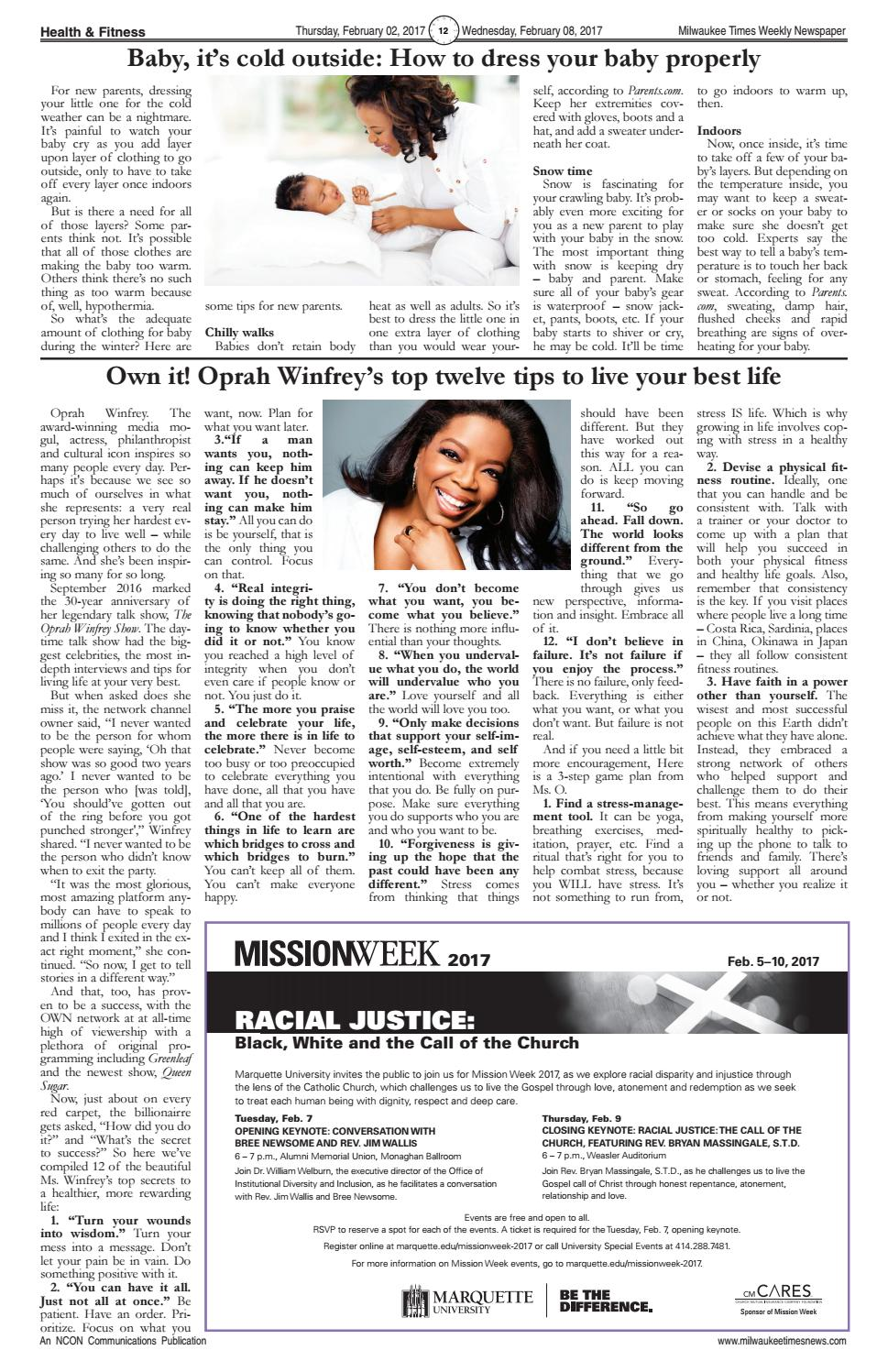 d4d9954b3 Miltimes 02 02 17 issue 16 pgs by Milwaukee Times News - issuu