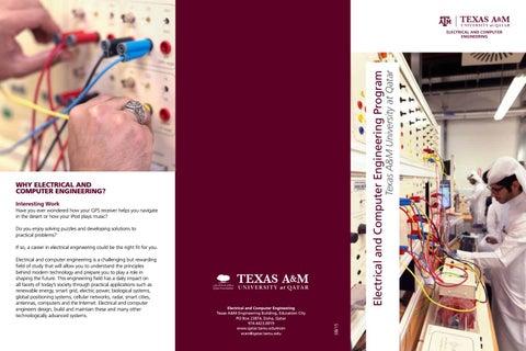 Ecen Snapshot Brochure Spreads Pdf By Texas A M At Qatar Issuu