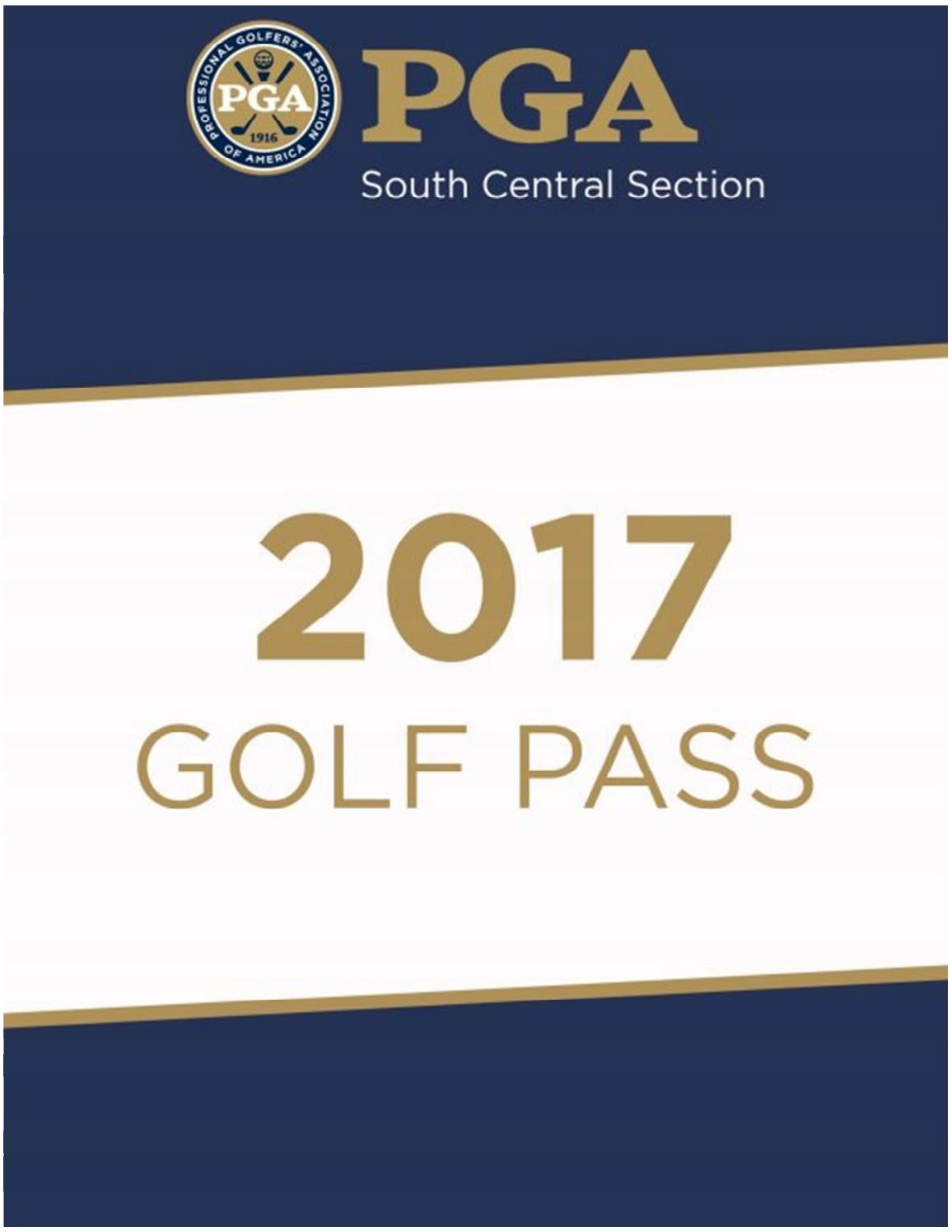 2017 GolfPass by South Central PGA - Issuu