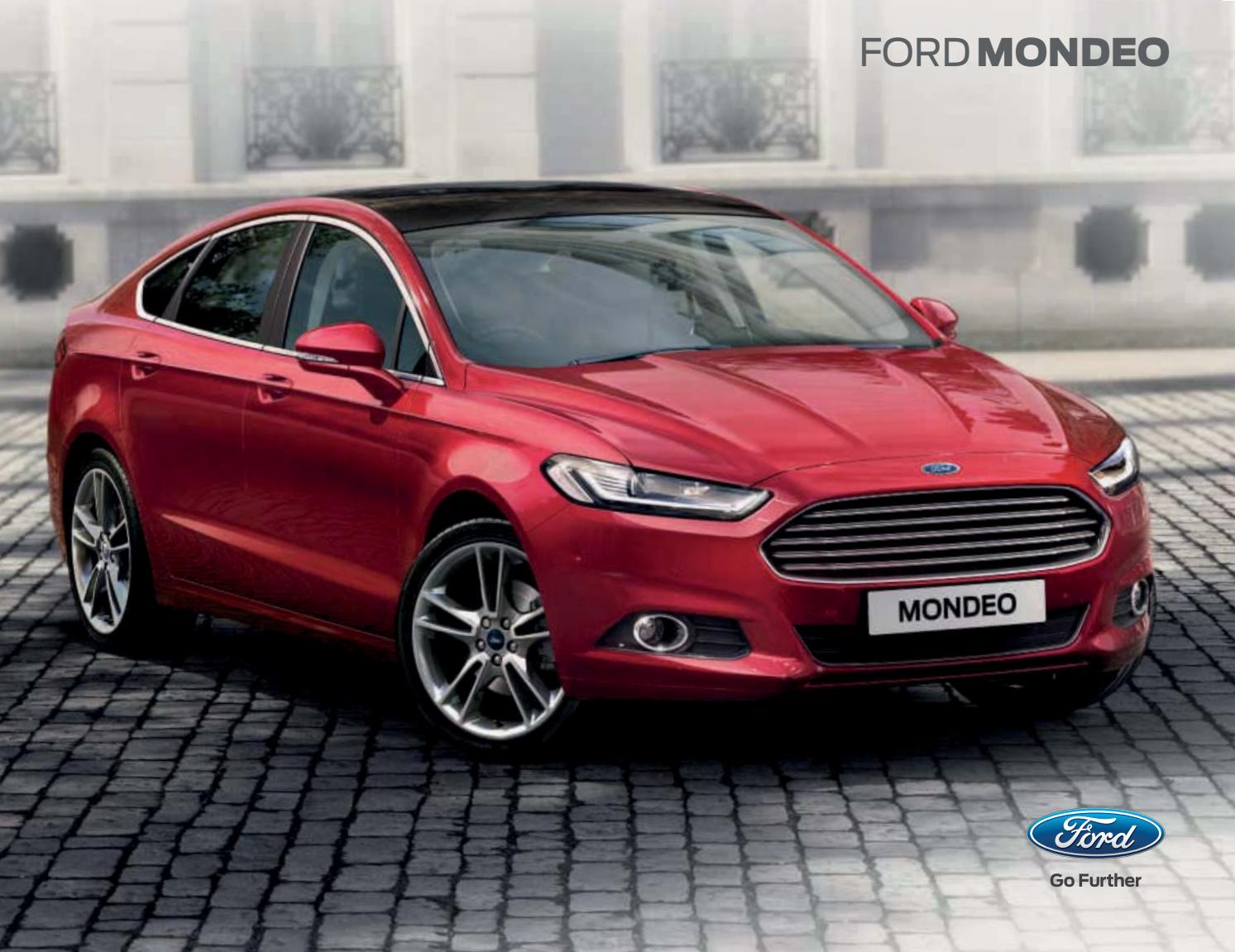 ford mondeo brochure 2016 by mustapha mondeo issuu. Black Bedroom Furniture Sets. Home Design Ideas