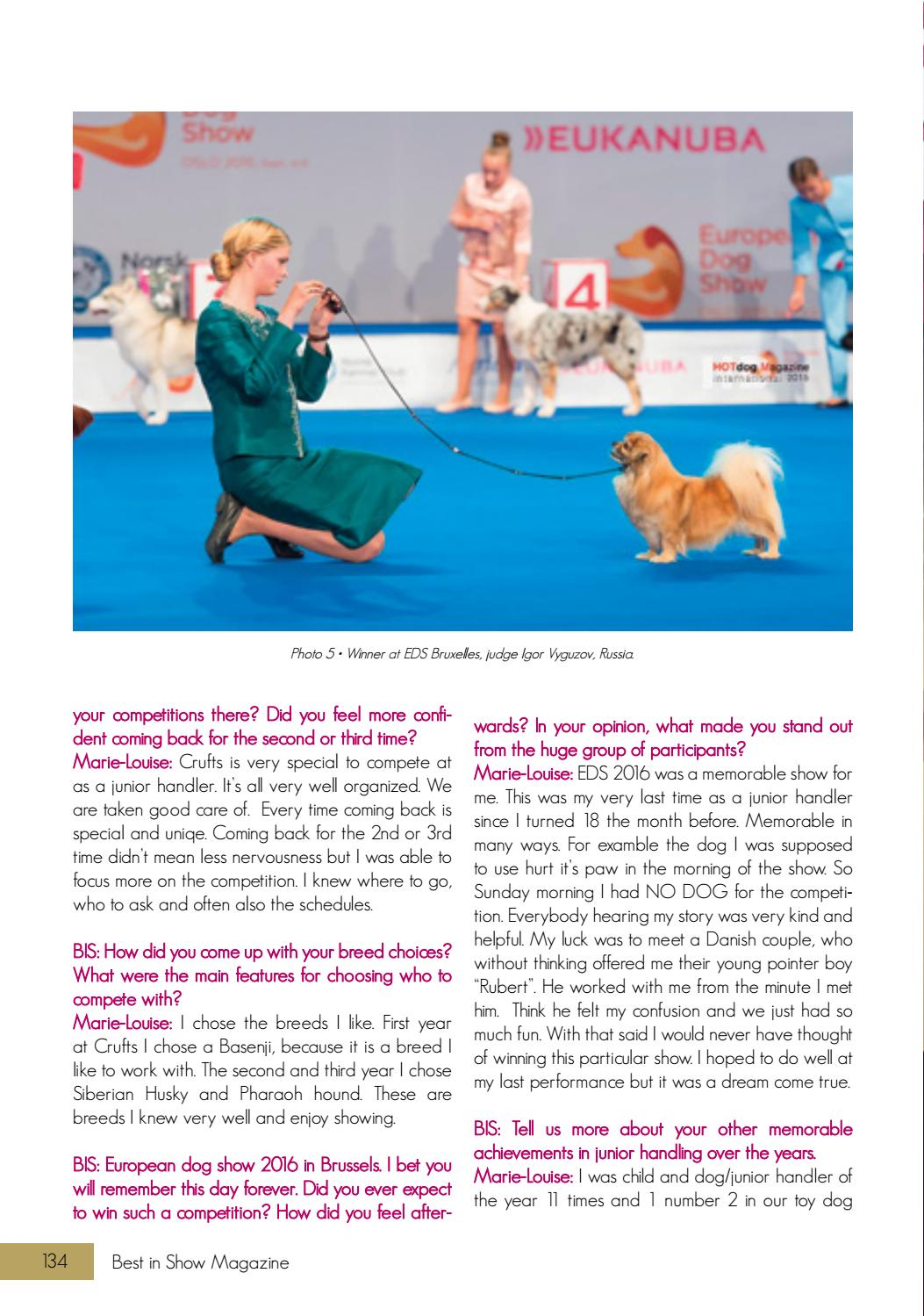 Best In Show Magazine Annual 2017 By