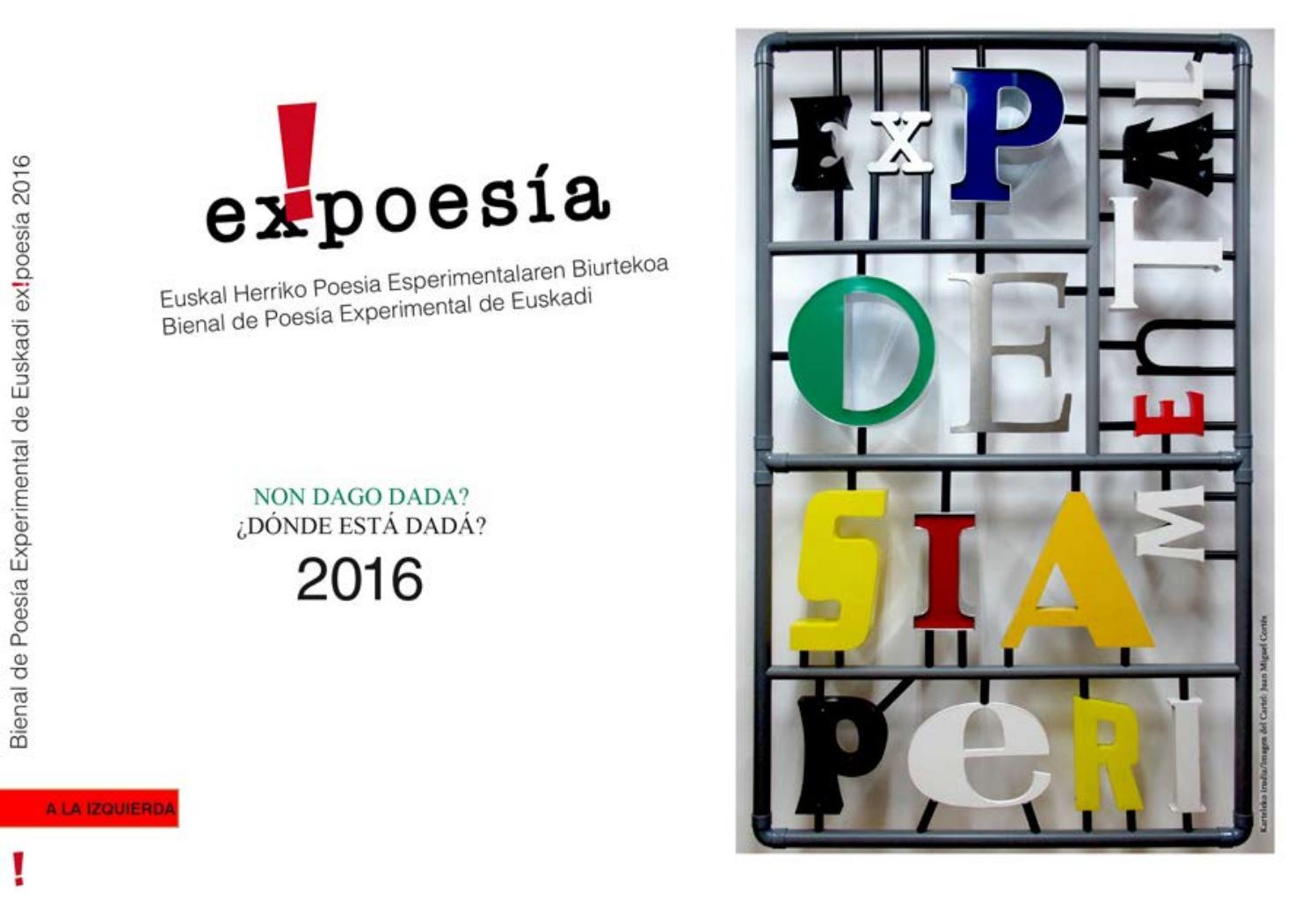 Amaranta Ruiz Culo ex!poes�a catalogo/memoria 2016lupi izquierda - issuu