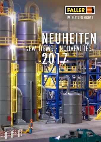 H0 4 Schornsteine Neu Faller 180954-1//87