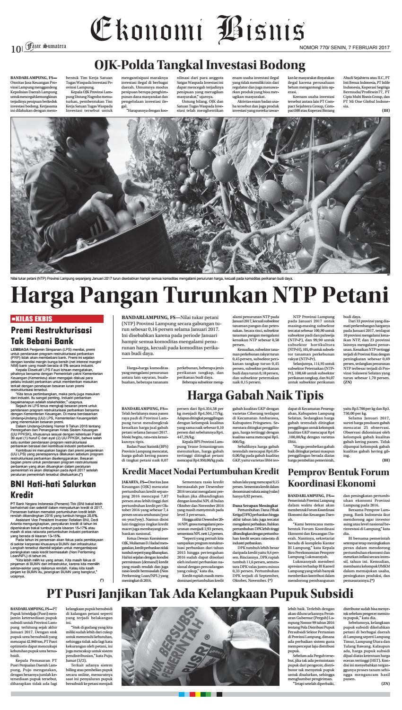 Fajar Sumatera L Senin 6 Februari 2017 By Fajar Sumatera Issuu