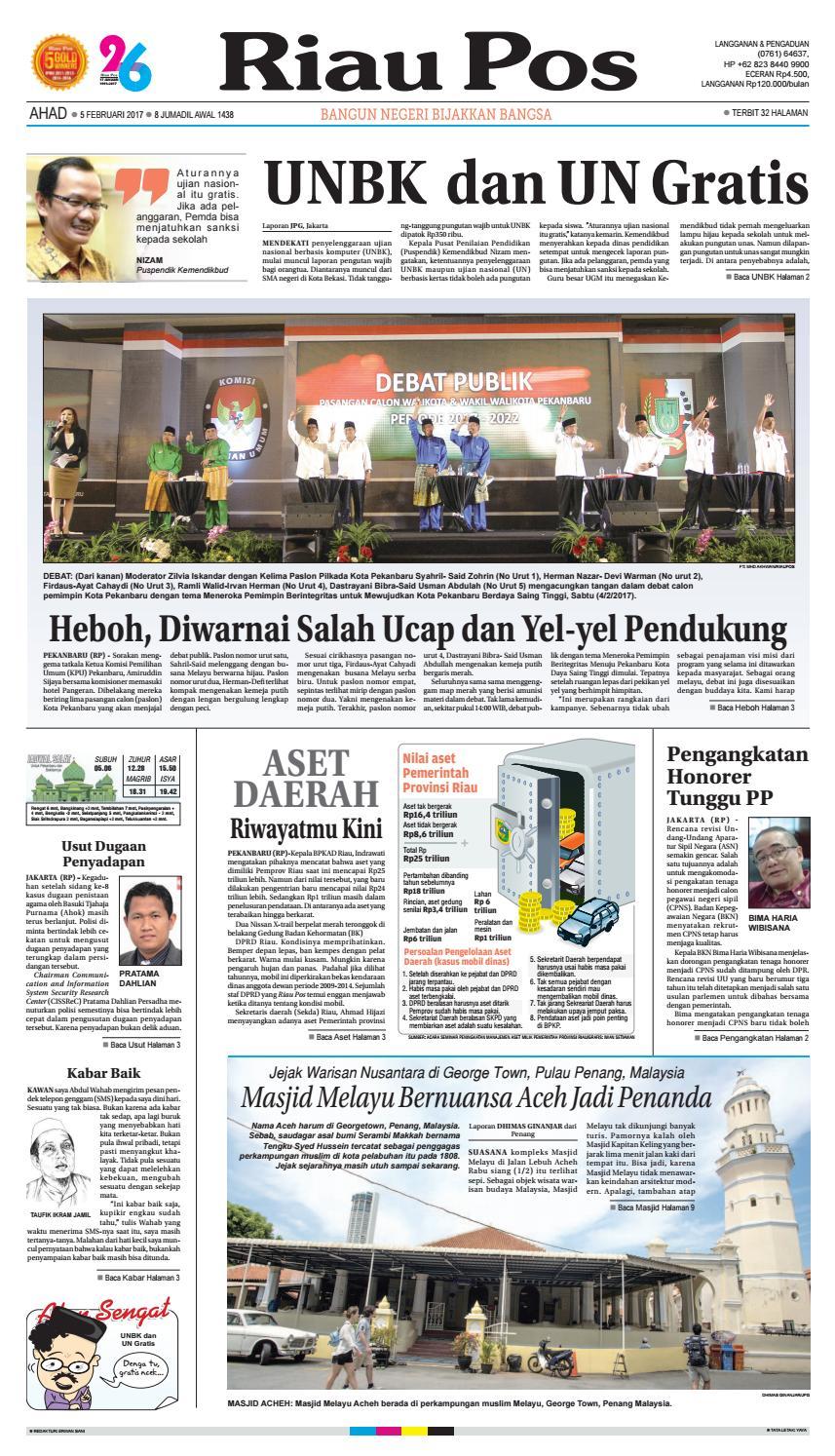 2017 02 05 By Riau Pos Issuu