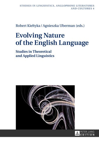 Evolving nature of the english language by veacesav filimon issuu evolving nature of the english language this volume presents a collection of interdisciplinary papers pertaining to the most thought provoking problems in fandeluxe Gallery