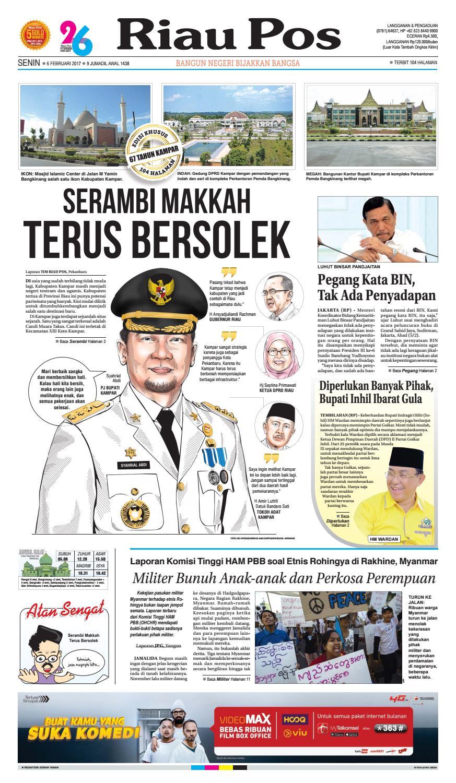 2017 02 06 By Riau Pos Issuu