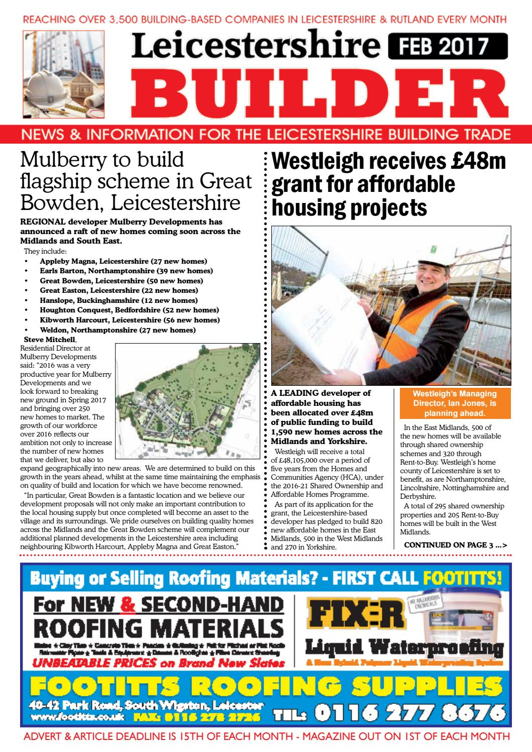 February 2017 leicestershire builder online by michael wilkinson issuu malvernweather Choice Image