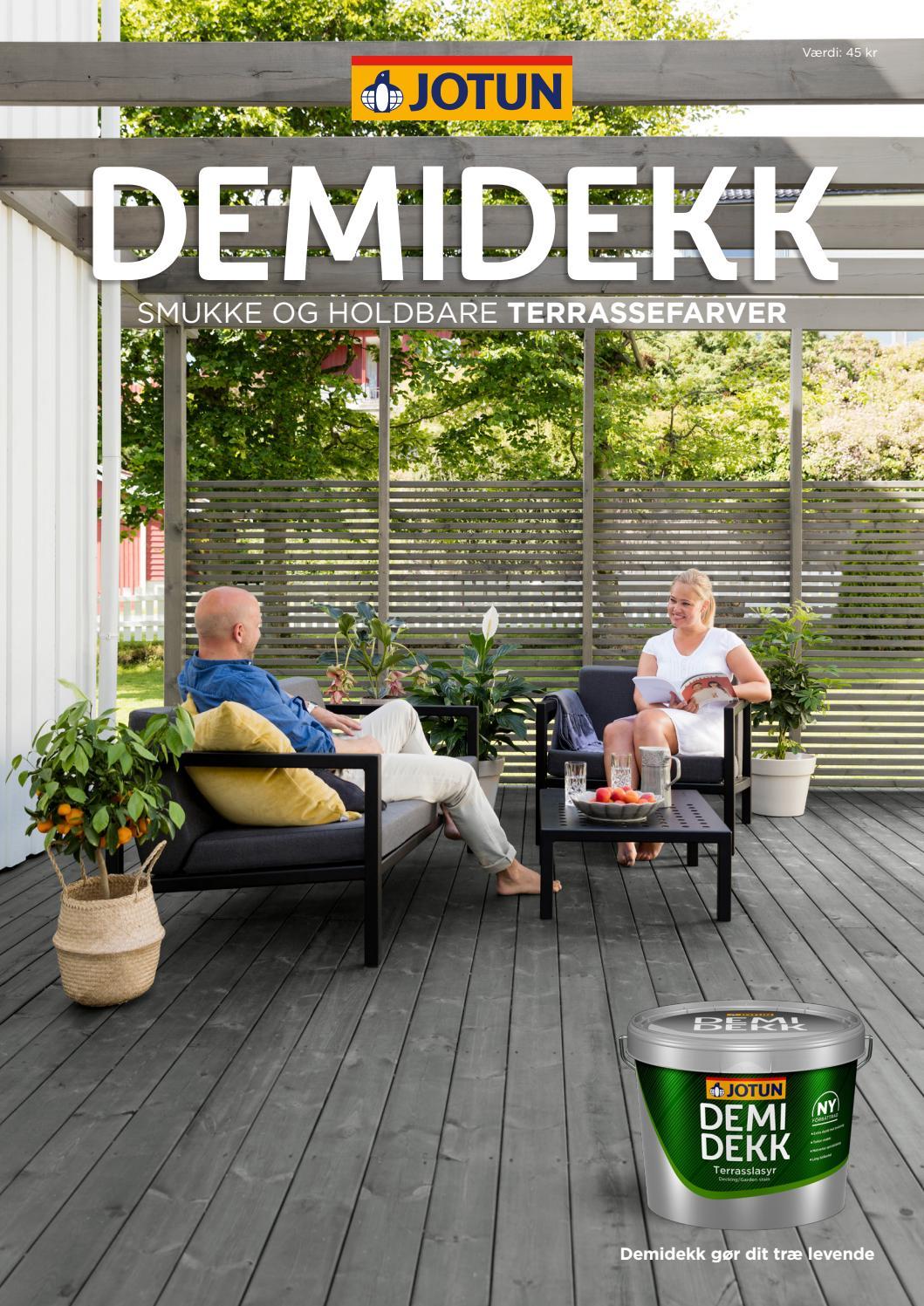 Picture of: Demidekk Terrasseolie 2017 By Jotun Danmark Issuu