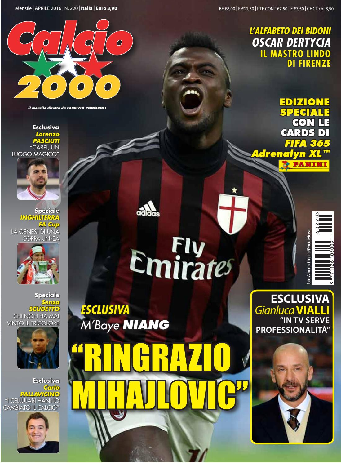 Calcio2000 n.220 by TC C SRL - issuu c0e0556aa4e