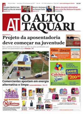 e345e1877 Jornal O Alto Taquari - 03 de fevereiro de 2017 by Jornal O Alto ...