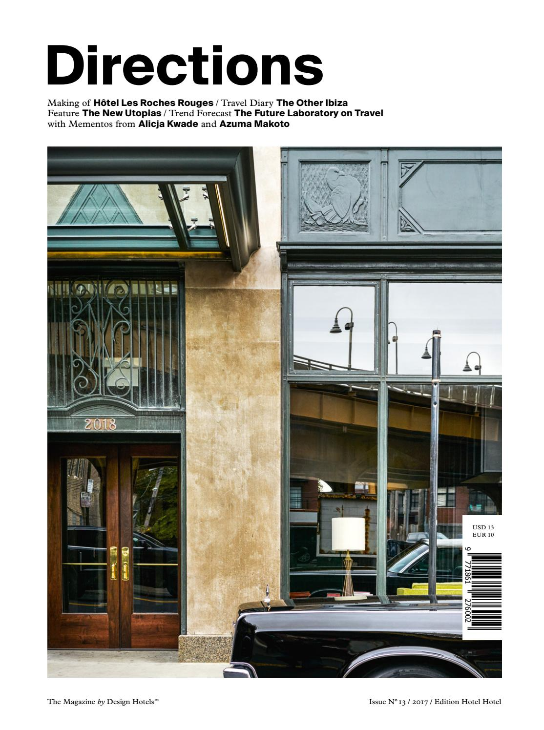 directions – the magazinedesign hotels™ no 13 issue 2017