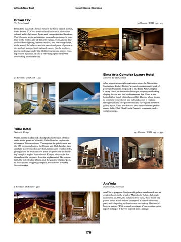 Directions The Magazine By Design Hotels No 13 Issue 2017 By