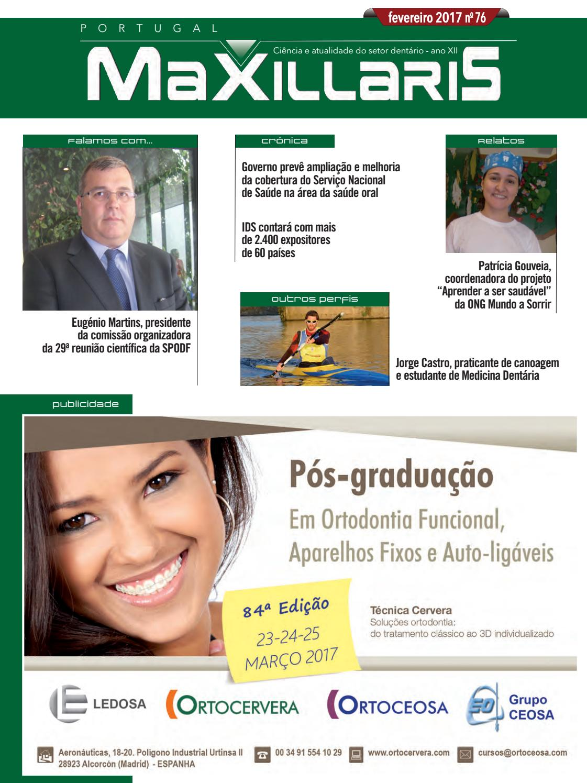 4160bcfd8 MAXILLARIS Portugal Fevereiro 2017 by CYAN EDITORES