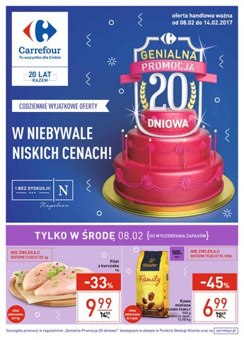 Carrefour Gazetka Od 0802 Do 14022017 By Iulotkapl Issuu