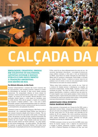 Page 12 of Cal\u00E7ada da m\u00FAsica