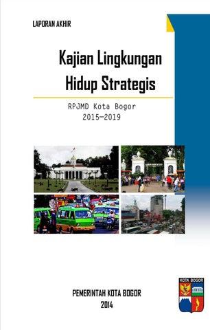 Laporan Akhir Klhs Rpjmd Kota Bogor 2015 2019 By Irvan Pulungan Issuu