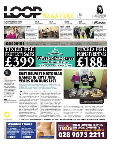 Loop Mag East Belfast February 2017 By Loop Publications
