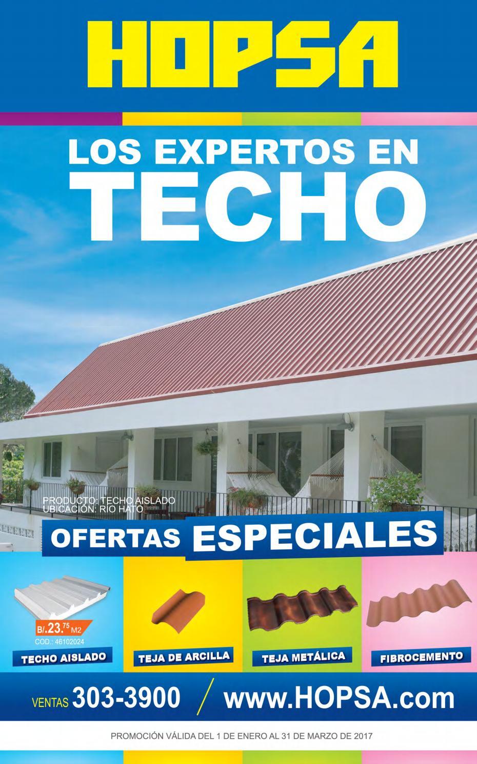 Hopsa catalogo de ofertas by interiores estilo issuu - Hogarium catalogo de ofertas ...