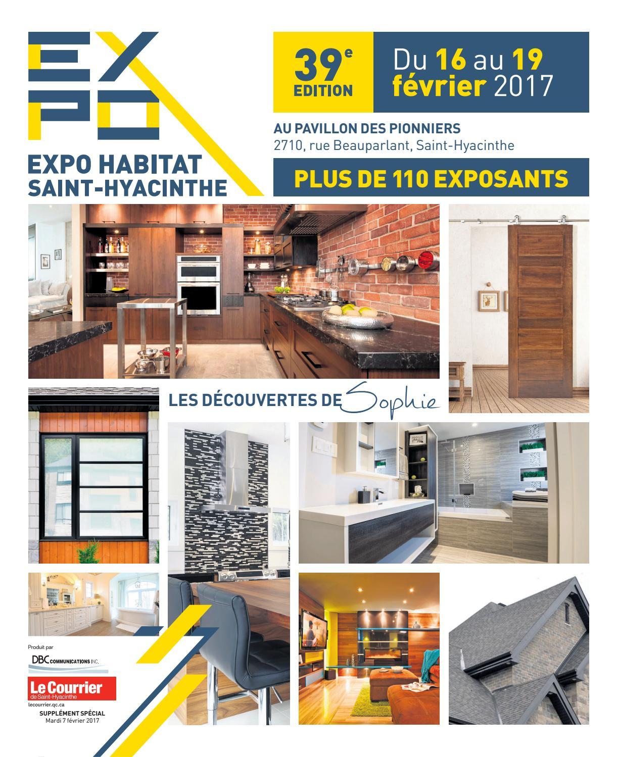 Expo habitat de saint hyacinthe 2017 by dbc for Porte et fenetre quebecoise st hyacinthe