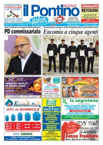 Il Pontino Nuovo - Anno XXXII - N. 3 - 1 15 Febbraio 2017 by Il ... ab02c0f224b
