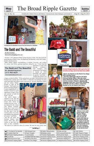 Brg v10 n16i by Broad Ripple Gazette - issuu