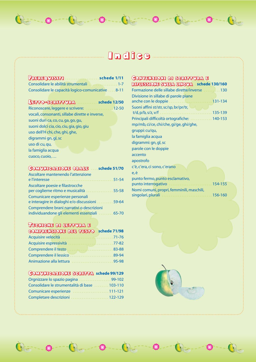 Italiano Mela Verde Prima By Maria Teach Issuu