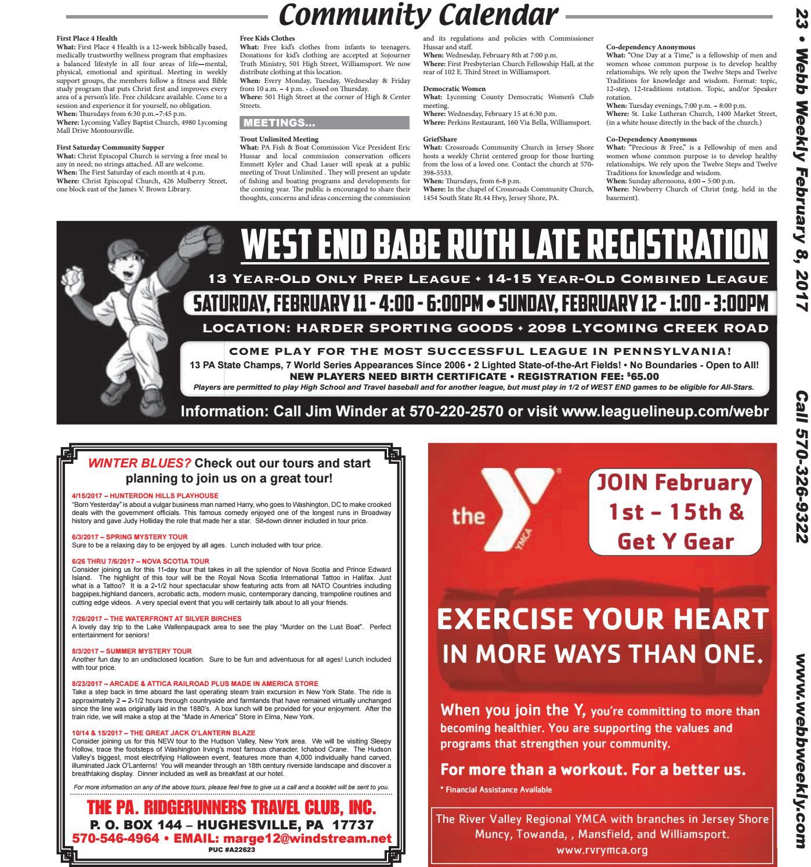 Webb weekly february 8 2017 by webb weekly issuu aiddatafo Gallery