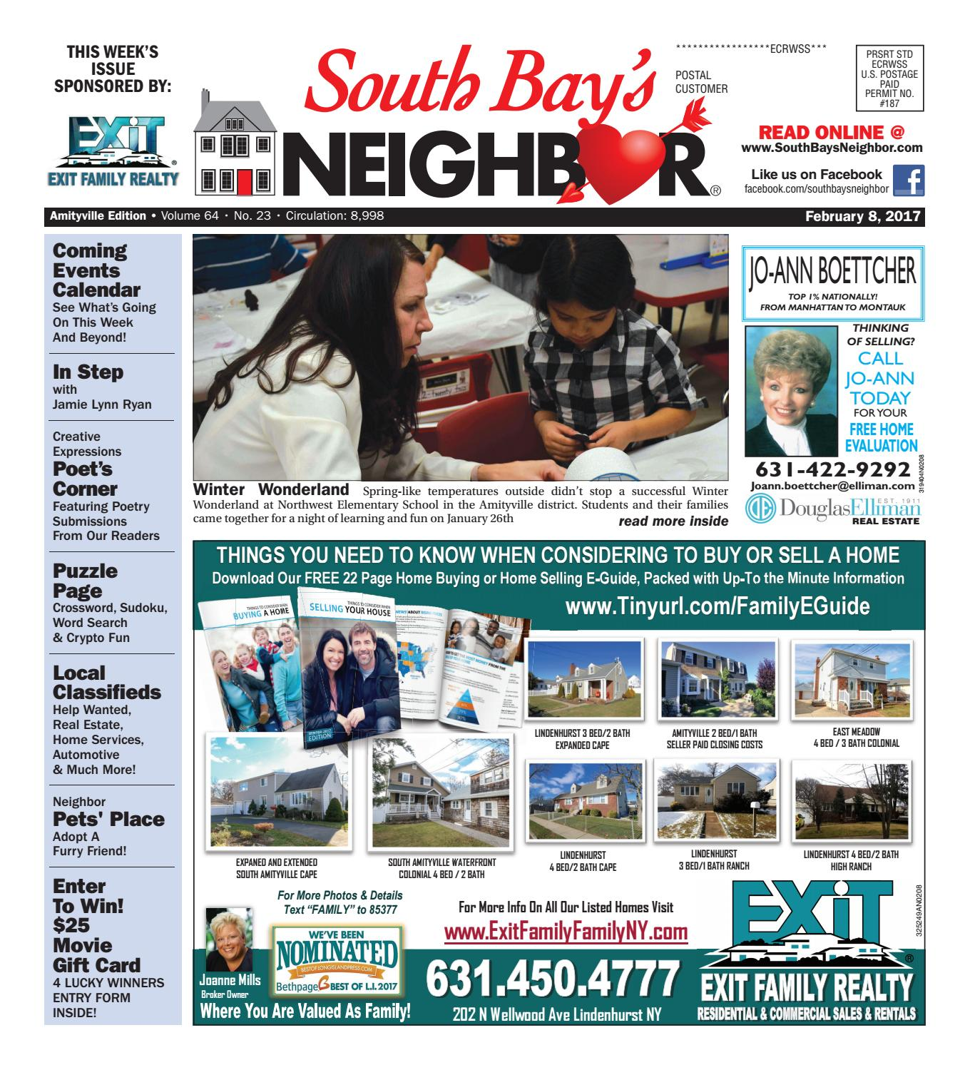 February 8, 2017 Amityville by South Bay\'s Neighbor Newspapers - issuu