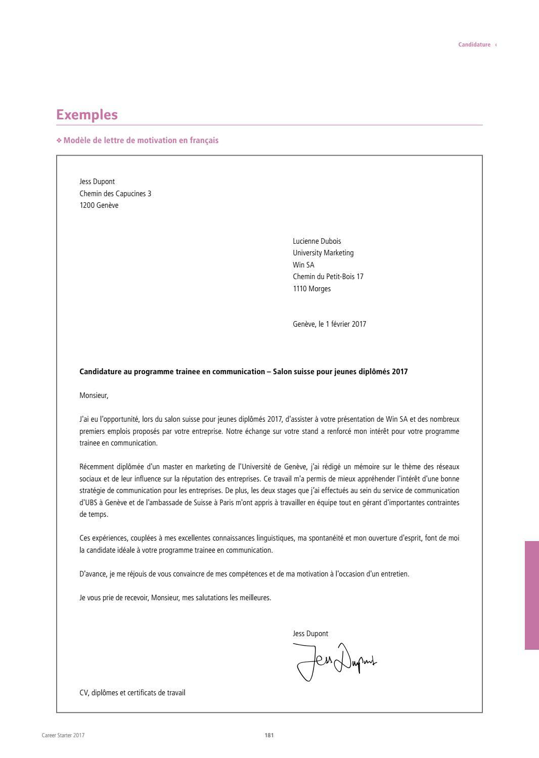 Career Starter - Edition française - 2017 by together ag ...