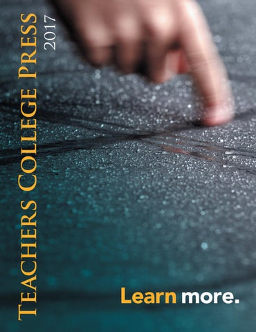 Teachers college press 2017 catalog by teachers college press page 1 fandeluxe Image collections
