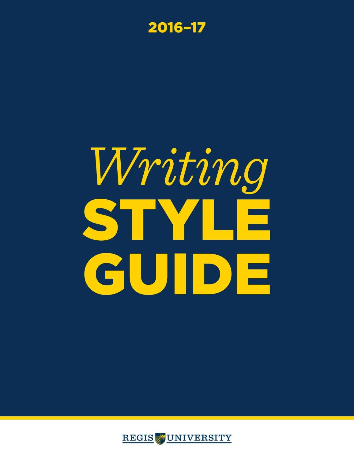 style guide journlaism The style guide includes part 1, air university style guide for writers and editors, which has served as au's style manual since 2001, and part 2, air university press author guide, which provides instructions for potential au.