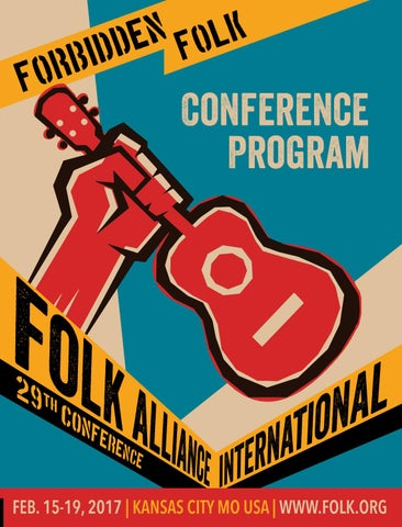 e7767bba8b0 Folk Alliance International 2017 Program Book by Folk Alliance ...