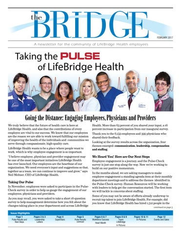 the Bridge - February 2017 by LifeBridge Health - issuu