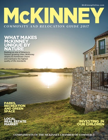 Mckinney Tx Chamber Of Commerce Community Guide By Chamber Marketing