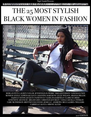 da3b79f8381f The 25 Most Stylish Black Women in Fashion by Kolor Magazine - issuu