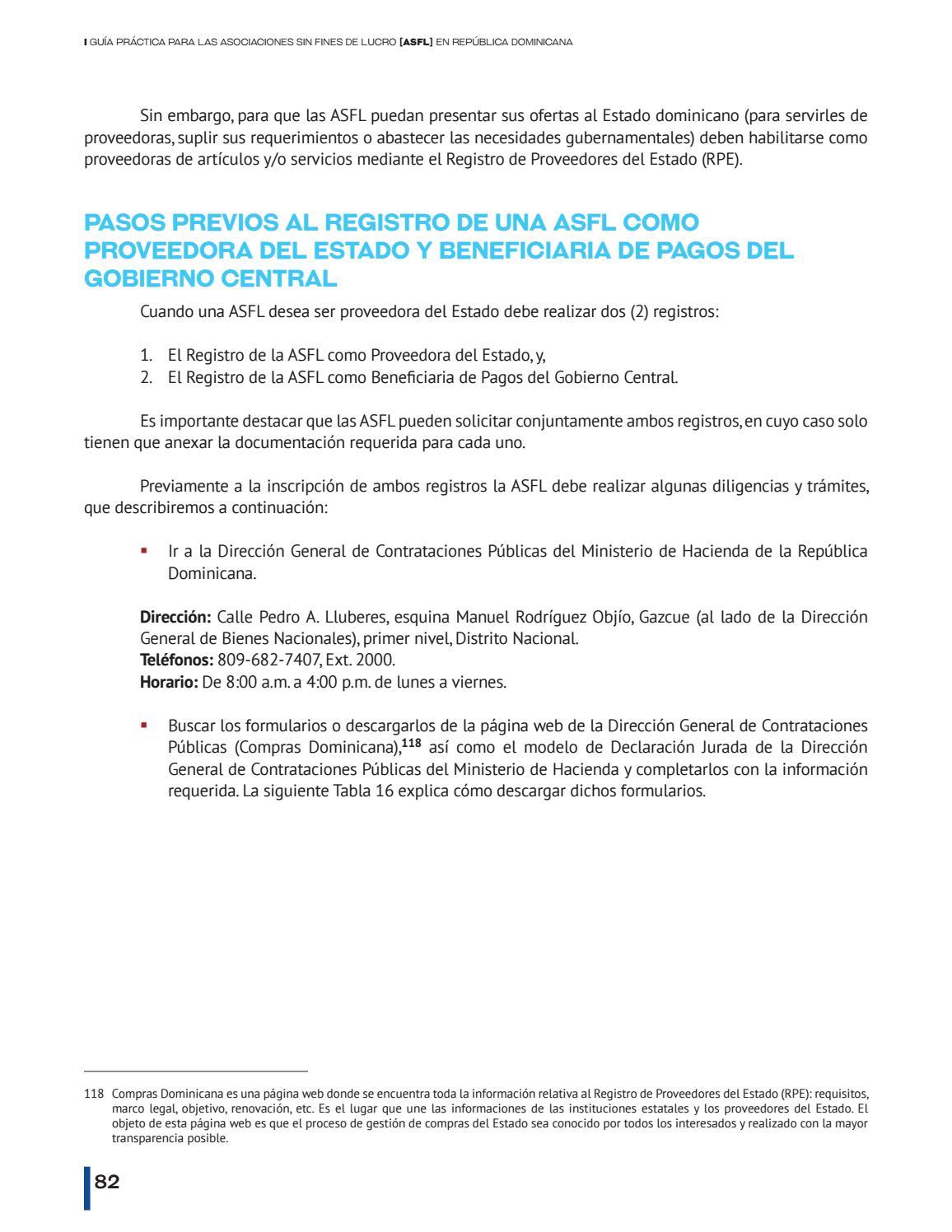 Guía práctica de Asociaciones Sin Fines de Lucro (ASFL) by Alianza ...