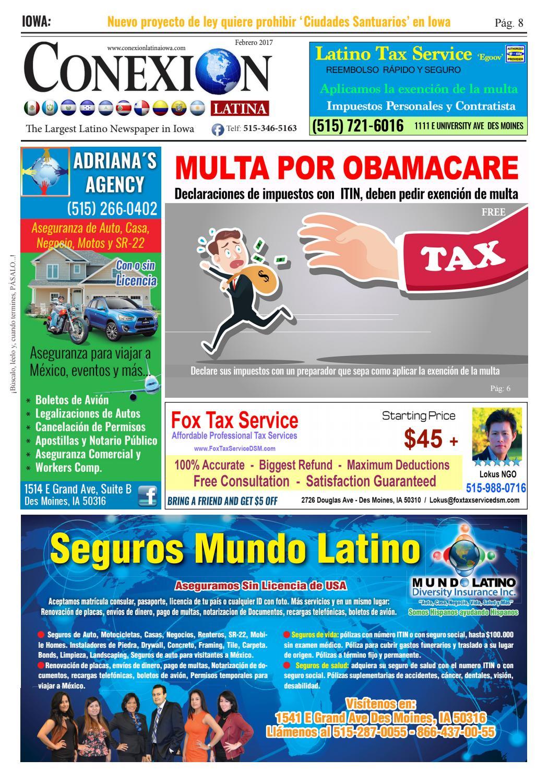 Febrero 2017 by Periódico Conexión Latina - issuu