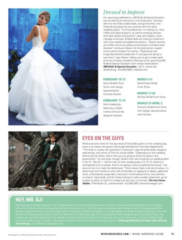 479382420e2 WHIRL Wedding Guide  Spring Summer 2017 by WHIRL Publishing - issuu