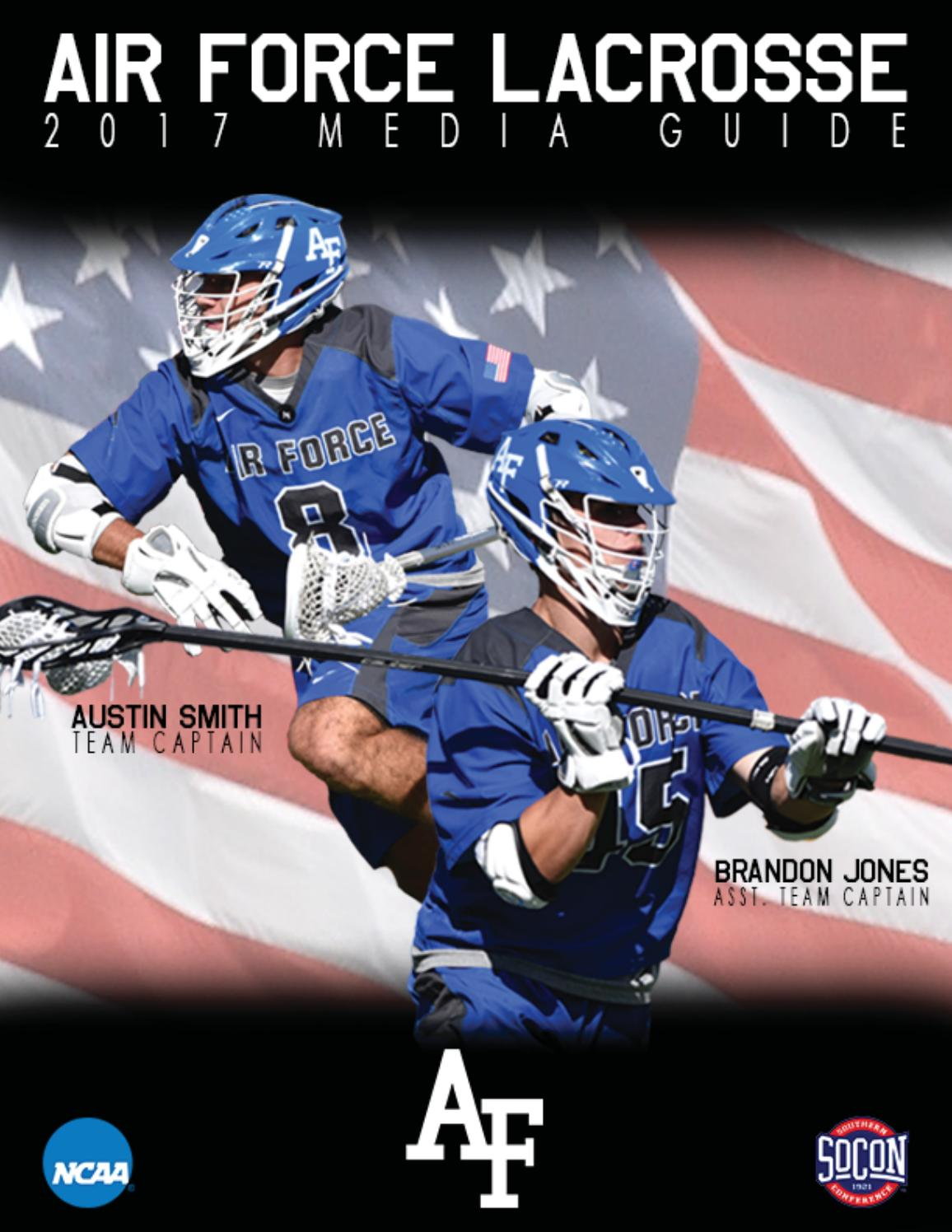 2017 Air Force Lacrosse Media Guide By Air Force Media Relations Issuu