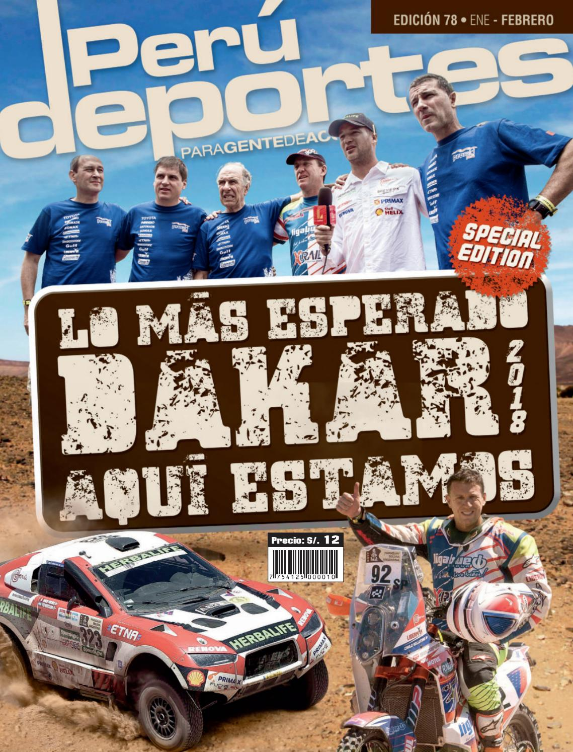 Revista Peru Deportes Edicion 78 by Revista Peru Deportes - issuu