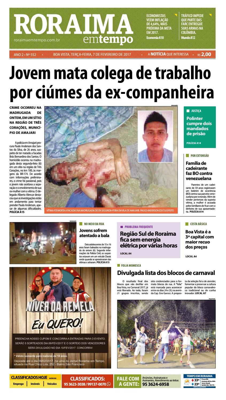 18dbd36c5 Jornal roraima em tempo – edição 552 by RoraimaEmTempo - issuu