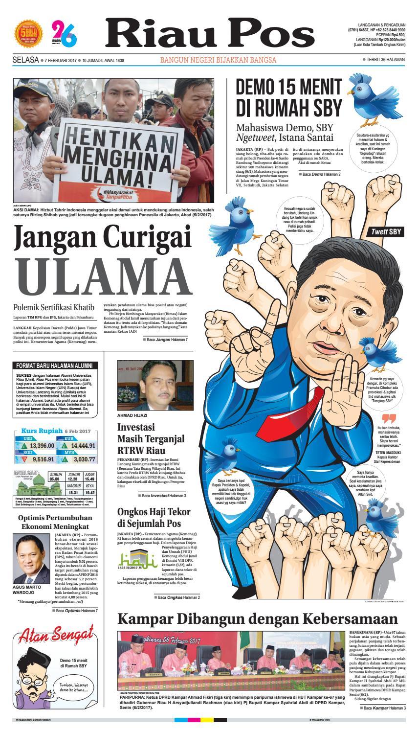2016 10 12 By Riau Pos Issuu