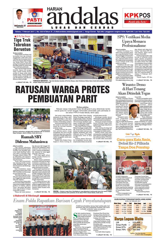 Epaper andalas edisi selasa 7 februari 2017 by media andalas - issuu 5552913925