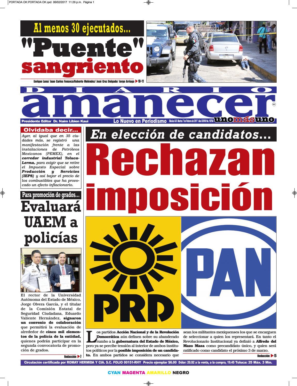 Febrero 7 de 2017 by Diario Amanecer - issuu