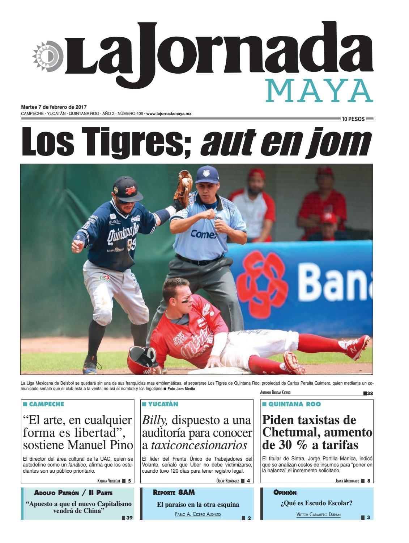 La Jornada Maya · Martes 7 de febrero 93caacc7ef476