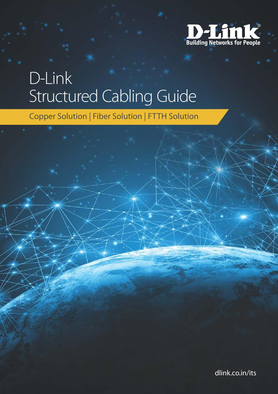 D Link Cabling Guide 2017 By India Limted Issuu 73 Cat6 Patch Panel 110 Type 24 Port 568a B Compatible